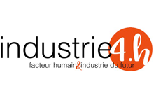 Logo du dispositif Industrie 4.H
